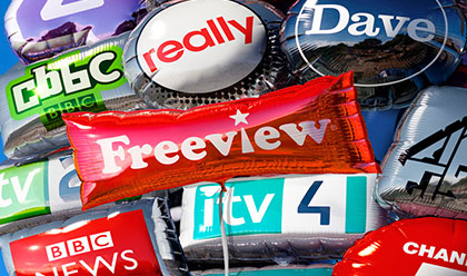 Freeview is now available built directly into the television