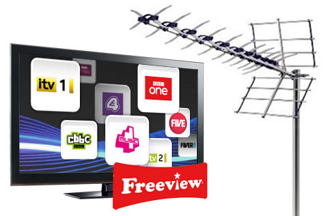 TV Aerial Freeview installers in the local area